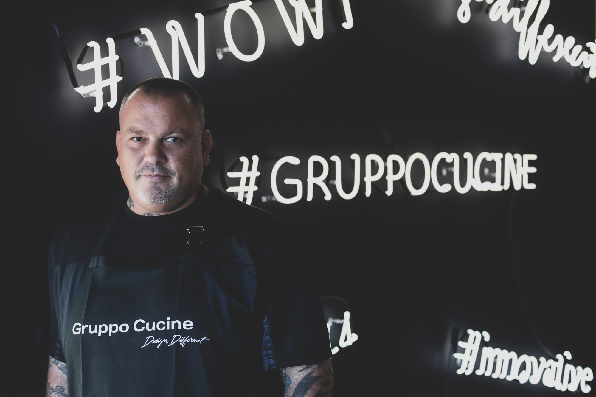 Nuova collaborazione del Gruppo Cucine con Dimitris Skarmoutsos