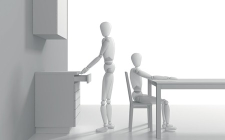 Corretta gestione degli spazi nei mobili della cucina