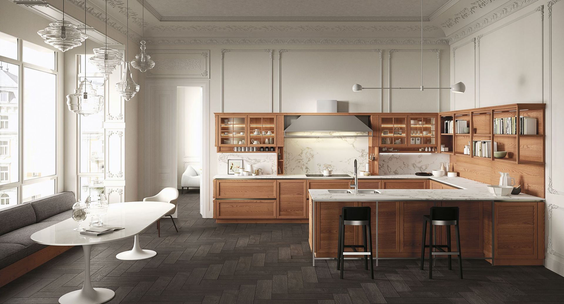 Modern kitchens Snaidero - Heritage