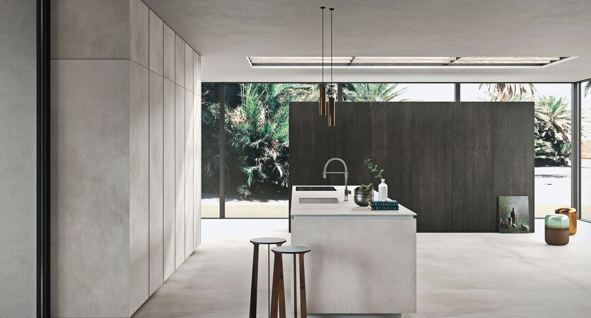 Contemporary kitchens Snaidero - Way Materia