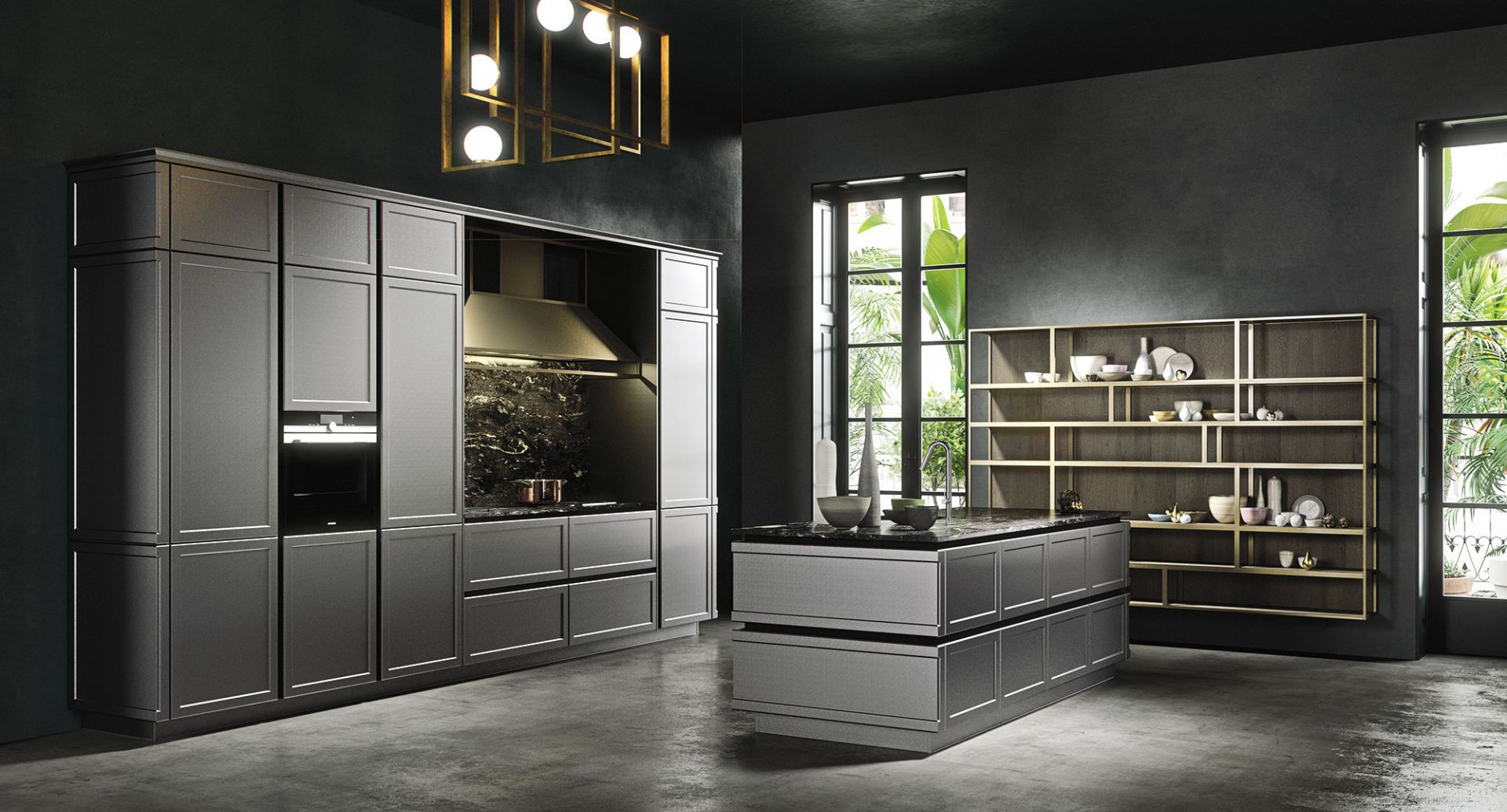 Modern kitchens  Snaidero - Frame