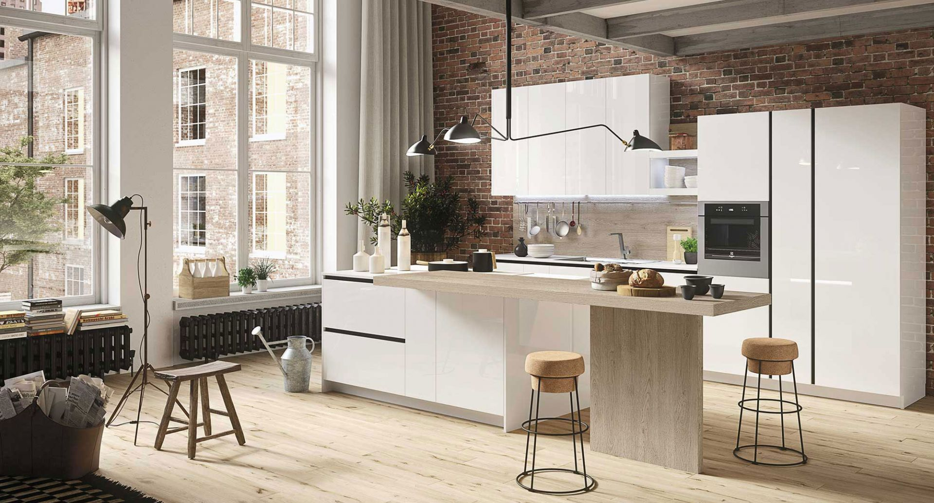 Modern kitchens accessible prices Snaidero - First